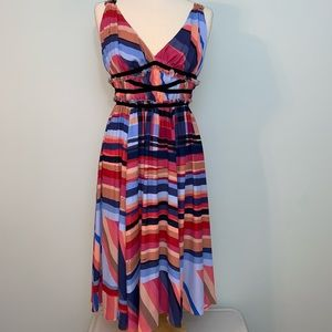 Catherine Maladrino NWT flare dress